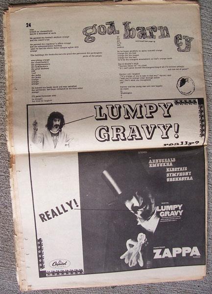 Lumpy Gravy Notes Amp Comments